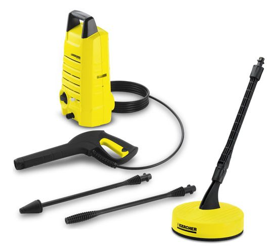 Karcher K214 Pressure Washer 100 Bar T50 Patio Cleaner