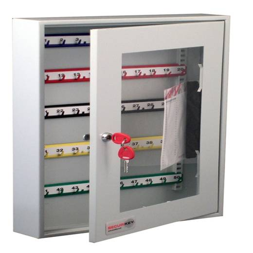 Securikey System 50 Perspex Front Key Cabinet