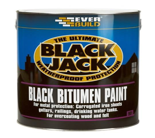 Everbuild Black Jack Black Bitumen Paints 901