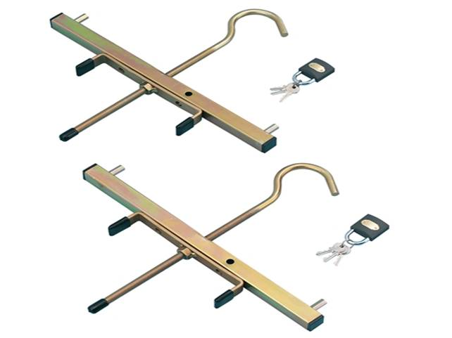 Zarges Roof Rack Clamps 5 Display